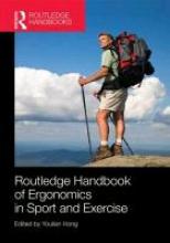 Routledge Handbook of Ergonomics in Sport and Exercise