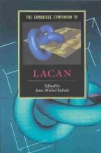Rabate, Jean-Michel Cambridge Companion to Lacan