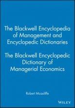 Mcauliffe, Robert The Blackwell Encyclopedic Dictionary of Managerial Economics