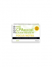 Wiley Cpaexcel Exam Review 2019 Focus Notes