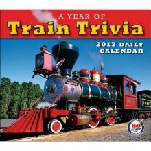B&O Railroad Museum A Cal 2017-Year of Train Trivia