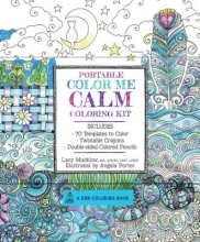 Mucklow, Lacy Portable Color Me Calm Coloring Kit