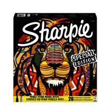 , Viltstift Sharpie fun leeuw special edition box à 26 stuks