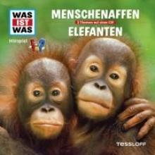 Was ist was Hrspiel-CD: Menschenaffen/Elefanten