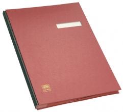 , Vloeiboek Elba 20 vakken rood