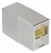 , Adapter Hama CAT5e 2x RJ45 socket