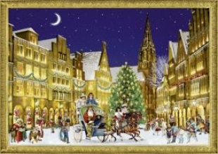 , Weihnacht in der Stadt. Adventskalender