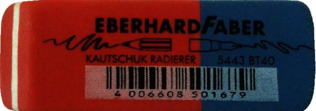 , Gum Eberhard Faber EF-585443 potlood/inkt