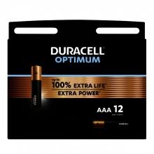 , Batterij Duracell Optimum 12xAAA