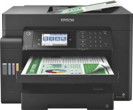 , Inkjetmultifunctional Epson Ecotank ET-16600 zwart