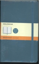 Moleskine Classic Colored Notebook, Large, Ruled, Underwater Blue