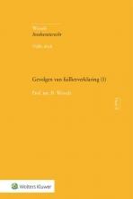 B. Wessels , Gevolgen van faillietverklaring (1)