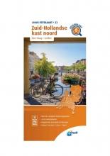 ANWB , Fietskaart Zuid-Hollandse kust noord 1:66.666