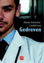 Mattie  Scherstra-Lindeboom Gedreven - grote letter uitgave