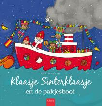 Kathleen  Amant Klaasje Sinterklaasje en de pakjesboot