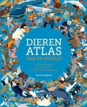 Nicola  Edwards Dierenatlas van de wereld