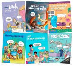 , Pakket Moppenboeken groep 4-8 (6 titels)
