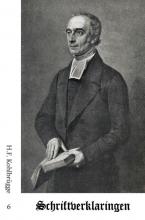H.F. Kohlbrügge , Schriftverklaringen 6
