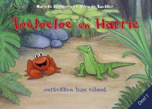 Marieke  Reehoorn Toeloeloe en Harrie Toeloeloe en Harrie ontdekken hun eiland.
