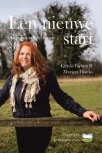 Gerda  Geven, Marjon  Hoeks Een nieuwe start, deel 1 van de Anja Koenders-trilogie (GROOTLETTER-uitgave)