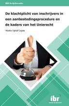 M.A.N.M. Ophof-Copier , De klachtplicht van inschrijvers in een aanbestedingsprocedure en de kaders van het Unierecht