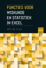 Wim de Groot , Functies voor wiskunde en statistiek in excel