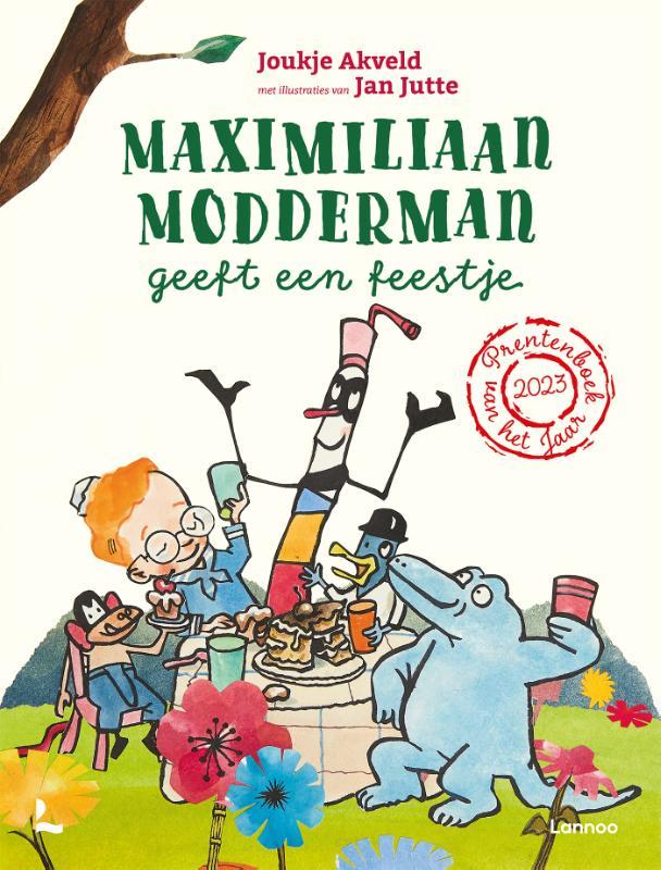 Joukje Akveld,Maximiliaan Modderman geeft een feestje