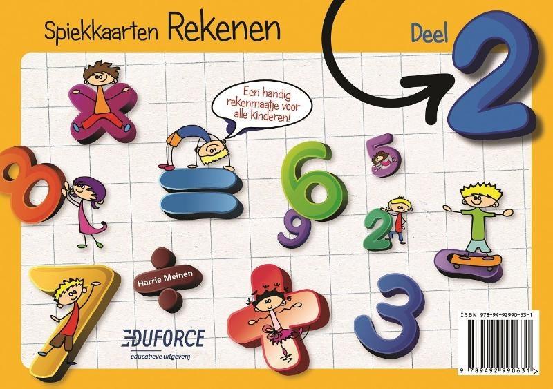 Harrie Meinen, Jessica van der Straaten,Spiekkaarten Rekenen 2
