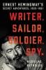 <b>Nicholas E. Reynolds</b>,Writer, Sailor, Soldier, Spy