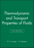 Rogers, G. F. C.,Thermodynamic and Transport Properties of Fluids