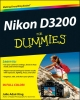 King, Julie Adair,Nikon D3200 For Dummies®