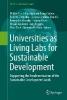 Walter Leal Filho,   Arminda Do Paco,   Amanda Lange Salvia,   Rudi W. Pretorius,Universities as Living Labs for Sustainable Development