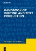 Jakobs, Eva-Maria,   Perrin, Daniel,Handbook of Writing and Text Production