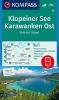 ,Kompass WK65 Klopeiner See, Karawanken Ost, Steiner Alpen