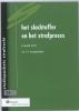 <b>F.F.  Langemeijer</b>,Studiepockets strafrecht Studiepocket  strafrecht 35 Het slachtoffer en het strafproces