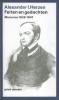<b>Alexander I.  Herzen</b>,Feiten en gedachten