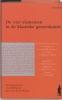 Hippocrates,  Galenus,  Wentges,De vier elementen in de klassieke geneeskunde
