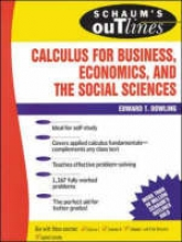 Dowling, Edward T. Schaum`s Outline of Calculus for Business, Economics, and the Social Sciences