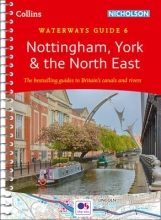 Collins Maps Nottingham, York & the North East