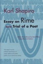 Karl Shapiro Essay on Rime