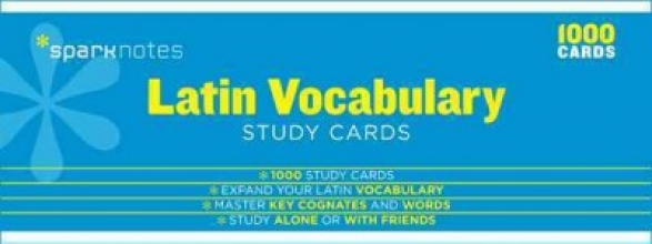 Latin Vocabulary Study Cards