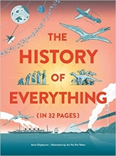 Anna Claybourne , The History of Everything in 32 Pages