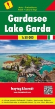 , Gardasee, Autokarte 1:50.000