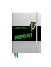 Lt361390 , Leuchtturm notitieboek puntjes neon groen