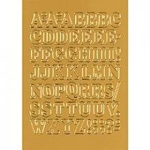 , Etiket Herma 4183 12mm letters A-Z goudfolie 50stuks
