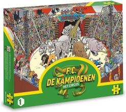 , F.C. de kampioenen - Het circus puzzel