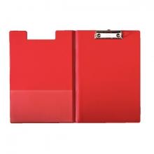 , Klemmap Esselte 56043 met kopklem en insteek rood