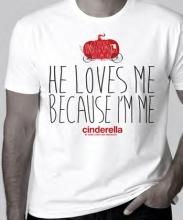 Cinderella T-shirt, XL
