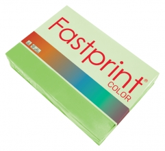 , Kopieerpapier Fastprint A4 80gr helgroen 500vel