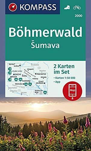 ,Böhmerwald, sumava 1:50 000